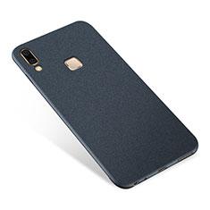 Custodia Silicone Ultra Sottile Morbida Cover S01 per Samsung Galaxy A8 Star Blu