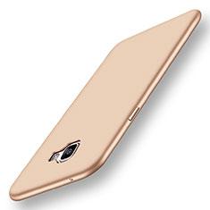 Custodia Silicone Ultra Sottile Morbida Cover S01 per Samsung Galaxy A9 Pro (2016) SM-A9100 Oro