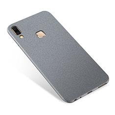 Custodia Silicone Ultra Sottile Morbida Cover S01 per Samsung Galaxy A9 Star SM-G8850 Grigio