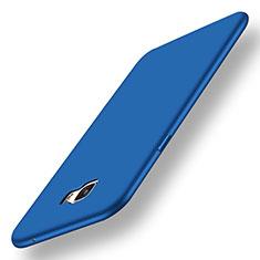 Custodia Silicone Ultra Sottile Morbida Cover S01 per Samsung Galaxy C7 Pro C7010 Blu