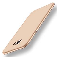 Custodia Silicone Ultra Sottile Morbida Cover S01 per Samsung Galaxy C7 Pro C7010 Oro