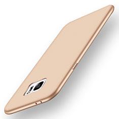 Custodia Silicone Ultra Sottile Morbida Cover S01 per Samsung Galaxy Note 7 Oro