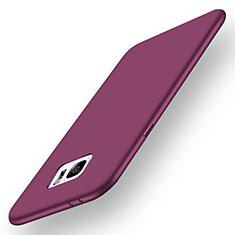 Custodia Silicone Ultra Sottile Morbida Cover S01 per Samsung Galaxy Note 7 Viola