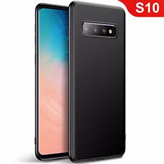 Custodia Silicone Ultra Sottile Morbida Cover S01 per Samsung Galaxy S10 5G Nero