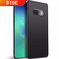 Custodia Silicone Ultra Sottile Morbida Cover S01 per Samsung Galaxy S10e Nero