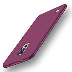 Custodia Silicone Ultra Sottile Morbida Cover S01 per Samsung Galaxy S5 Duos Plus Viola