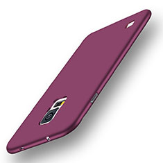 Custodia Silicone Ultra Sottile Morbida Cover S01 per Samsung Galaxy S5 G900F G903F Viola