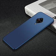 Custodia Silicone Ultra Sottile Morbida Cover S01 per Vivo X50 Lite Blu