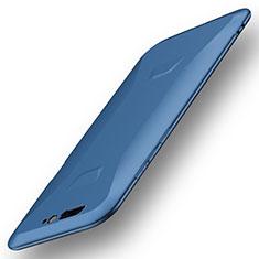 Custodia Silicone Ultra Sottile Morbida Cover S01 per Xiaomi Black Shark Blu
