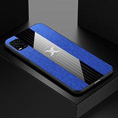 Custodia Silicone Ultra Sottile Morbida Cover S01 per Xiaomi Mi 10 Lite Blu