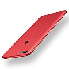 Custodia Silicone Ultra Sottile Morbida Cover S01 per Xiaomi Mi 8 Lite Rosso