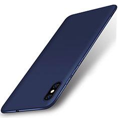 Custodia Silicone Ultra Sottile Morbida Cover S01 per Xiaomi Mi 8 Pro Global Version Blu