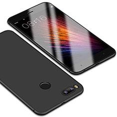 Custodia Silicone Ultra Sottile Morbida Cover S01 per Xiaomi Mi A1 Nero