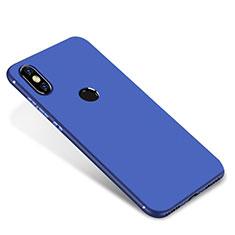 Custodia Silicone Ultra Sottile Morbida Cover S01 per Xiaomi Mi A2 Blu