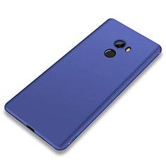 Custodia Silicone Ultra Sottile Morbida Cover S01 per Xiaomi Mi Mix 2 Blu