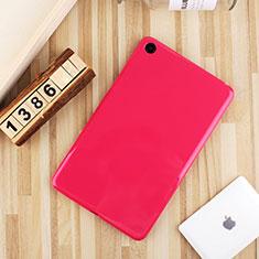 Custodia Silicone Ultra Sottile Morbida Cover S01 per Xiaomi Mi Pad 4 Plus 10.1 Rosa Caldo