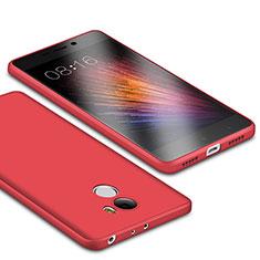 Custodia Silicone Ultra Sottile Morbida Cover S01 per Xiaomi Redmi 4 Standard Edition Rosso