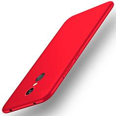 Custodia Silicone Ultra Sottile Morbida Cover S01 per Xiaomi Redmi 5 Plus Rosso