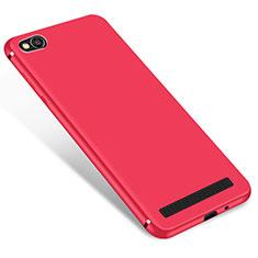 Custodia Silicone Ultra Sottile Morbida Cover S01 per Xiaomi Redmi 5A Rosso