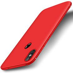 Custodia Silicone Ultra Sottile Morbida Cover S01 per Xiaomi Redmi 6 Pro Rosso