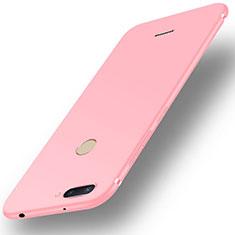 Custodia Silicone Ultra Sottile Morbida Cover S01 per Xiaomi Redmi 6 Rosa
