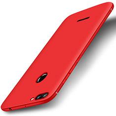 Custodia Silicone Ultra Sottile Morbida Cover S01 per Xiaomi Redmi 6 Rosso