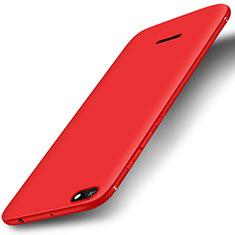 Custodia Silicone Ultra Sottile Morbida Cover S01 per Xiaomi Redmi 6A Rosso
