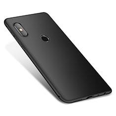 Custodia Silicone Ultra Sottile Morbida Cover S01 per Xiaomi Redmi Note 5 AI Dual Camera Nero