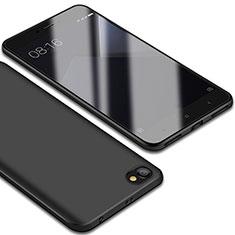Custodia Silicone Ultra Sottile Morbida Cover S01 per Xiaomi Redmi Note 5A Standard Edition Nero