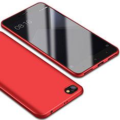 Custodia Silicone Ultra Sottile Morbida Cover S01 per Xiaomi Redmi Note 5A Standard Edition Rosso