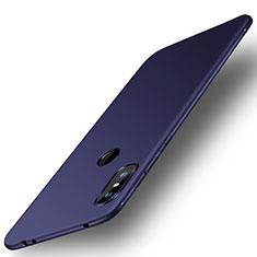 Custodia Silicone Ultra Sottile Morbida Cover S01 per Xiaomi Redmi Note 6 Pro Blu