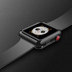 Custodia Silicone Ultra Sottile Morbida Cover S02 per Apple iWatch 4 40mm Nero