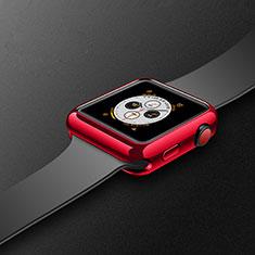 Custodia Silicone Ultra Sottile Morbida Cover S02 per Apple iWatch 4 40mm Rosso