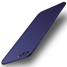 Custodia Silicone Ultra Sottile Morbida Cover S02 per Huawei Honor V10 Blu