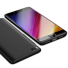 Custodia Silicone Ultra Sottile Morbida Cover S02 per Xiaomi Mi 5S Nero