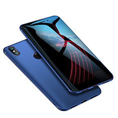 Custodia Silicone Ultra Sottile Morbida Cover S02 per Xiaomi Mi 6X Blu