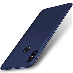 Custodia Silicone Ultra Sottile Morbida Cover S02 per Xiaomi Mi 8 Blu