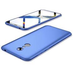 Custodia Silicone Ultra Sottile Morbida Cover S02 per Xiaomi Redmi 5 Plus Blu