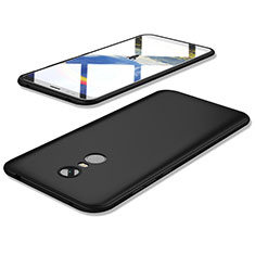 Custodia Silicone Ultra Sottile Morbida Cover S02 per Xiaomi Redmi 5 Plus Nero