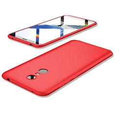 Custodia Silicone Ultra Sottile Morbida Cover S02 per Xiaomi Redmi 5 Plus Rosso