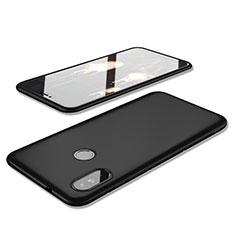 Custodia Silicone Ultra Sottile Morbida Cover S02 per Xiaomi Redmi 6 Pro Nero