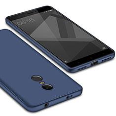 Custodia Silicone Ultra Sottile Morbida Cover S02 per Xiaomi Redmi Note 4 Standard Edition Blu