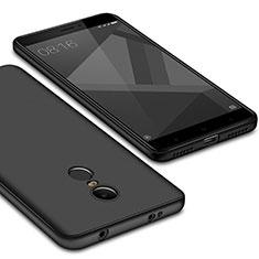 Custodia Silicone Ultra Sottile Morbida Cover S02 per Xiaomi Redmi Note 4 Standard Edition Nero