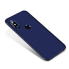 Custodia Silicone Ultra Sottile Morbida Cover S02 per Xiaomi Redmi Note 5 Pro Blu