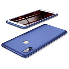Custodia Silicone Ultra Sottile Morbida Cover S02 per Xiaomi Redmi Y2 Blu