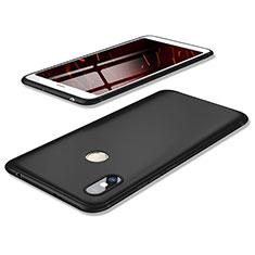 Custodia Silicone Ultra Sottile Morbida Cover S02 per Xiaomi Redmi Y2 Nero