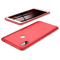 Custodia Silicone Ultra Sottile Morbida Cover S02 per Xiaomi Redmi Y2 Rosso