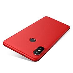 Custodia Silicone Ultra Sottile Morbida Cover S03 per Xiaomi Redmi Note 5 Pro Rosso