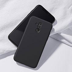 Custodia Silicone Ultra Sottile Morbida Cover S04 per Huawei Mate 20 Lite Nero