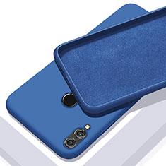 Custodia Silicone Ultra Sottile Morbida Cover S05 per Huawei Honor 10 Lite Blu
